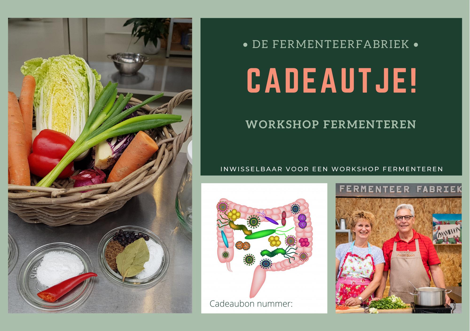 cadeaubon workshop fermenteren